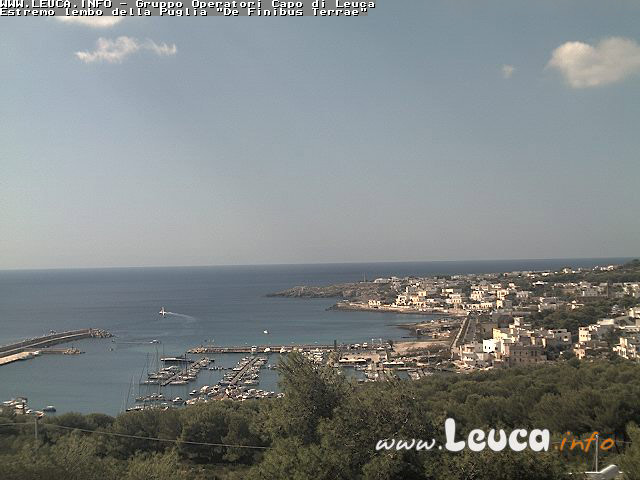 WebCam panoramica Santa Maria di Leuca