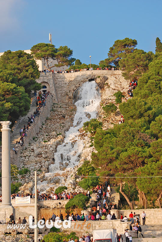 apertura della cascata monumentale in occasione di Ville in Festa
