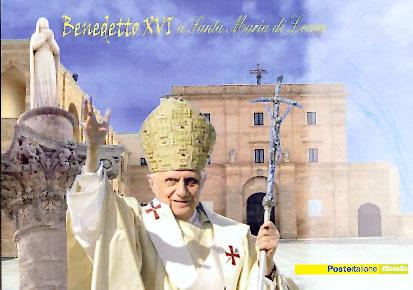 Fac-simile- Cartolina Papa Leuca 2008