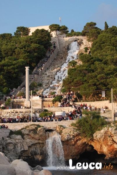 Cascata monumentale di Santa Maria di Leuca aperta il 23 Maggio 2010 ore 19:00