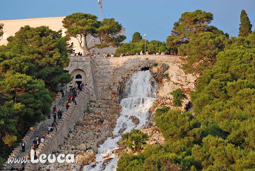 Cascata Scalinata monumentale Leuca