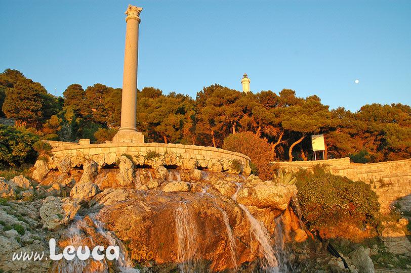Colonna Romana Cascata Leuca