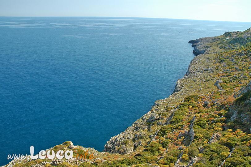 Tratto di costa tra Santa Maria di Leuca ed Otranto