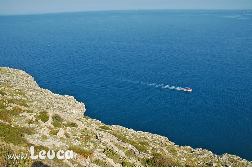 Vista sulla costa del Parco Otranto Santa Maria di Leuca Bosco di Tricase