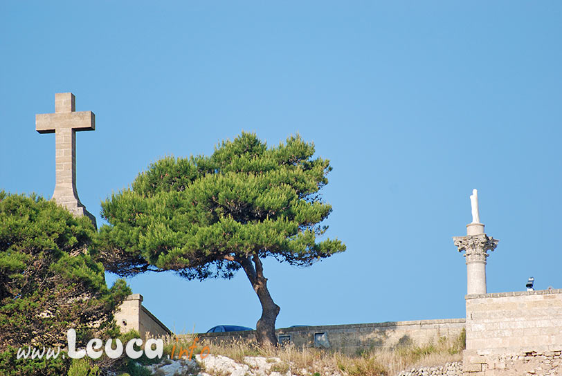 Croce Monumentale sul Santuario di Leuca