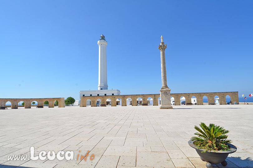 Il Faro di Leuca e la colonna Mariana