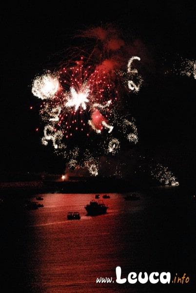 Fuochi d'artificio Santa Maria di Leuca Ferragosto 2010