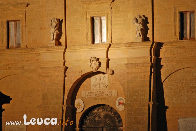 Ingresso Basilica di Leuca, particolare