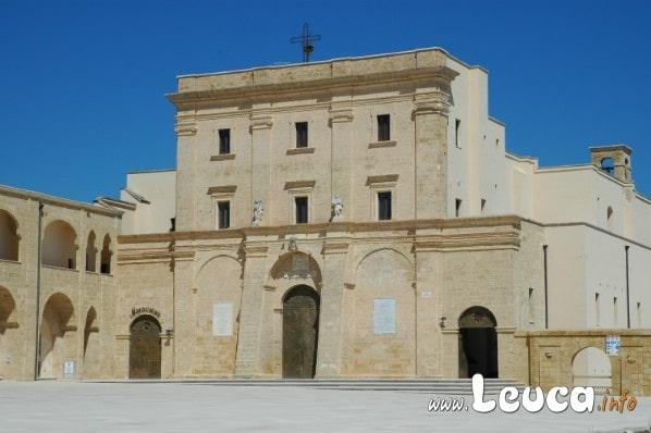 La Basilica De Finibus Terrae a Santa Maria di Leuca chiamata anche Santuario