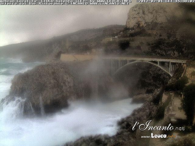 Webcam Località Ciolo Tempesta 01 Febbraio 2012