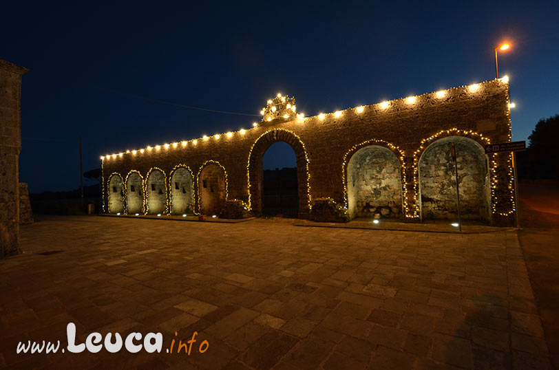 Arcate Leuca Piccola illuminate