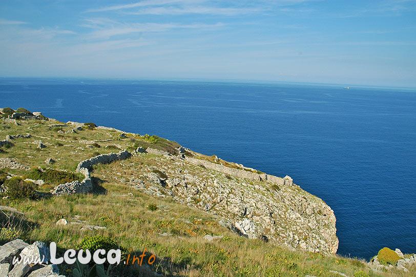 Paesaggio costiero a Santa Maria di Leuca