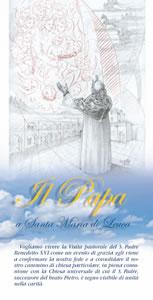 Coperrtina opuscolo 3 Papa a Leuca