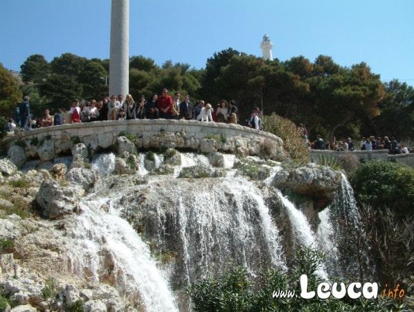 Foto Particolare della cascata Monumentale di SantaMaria di Leuca in Salento