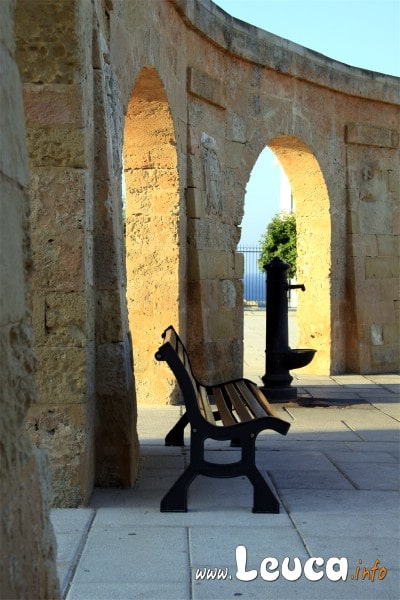 Foto di un particolare esterno del sabtuario Finibus Terrae Santa Maria di Leuca - Foto Sandro Simone