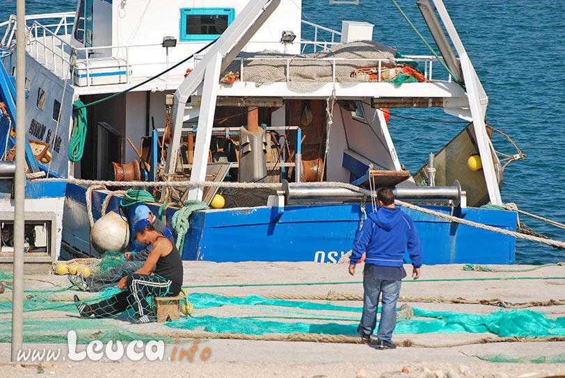 Pescatori di Leuca nel Salento