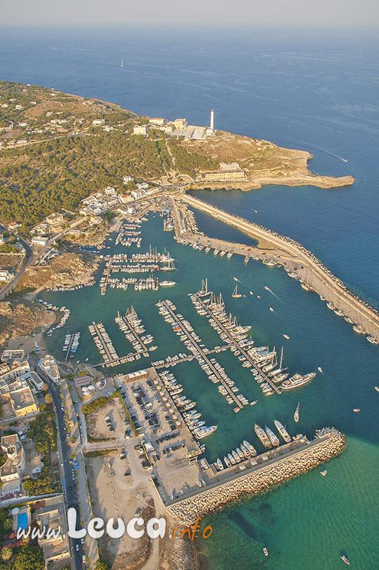 Vista aerea Porto Turistico di Leuca