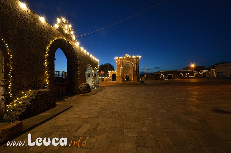 Illuminazione artistica Santuario di Leuca Piccola