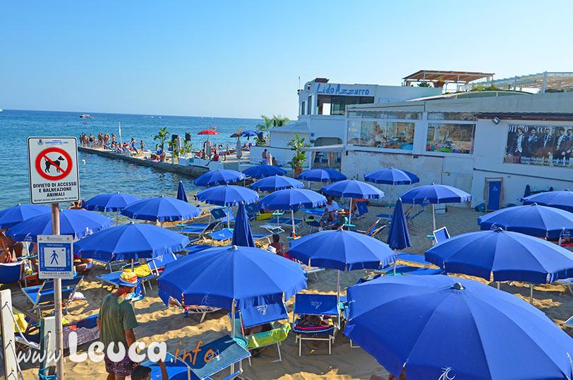 Spiaggia Lido Azzurro a Leuca