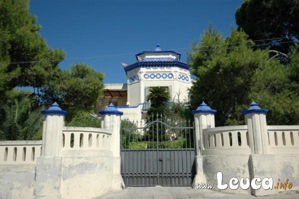 Una tra le meravigliose e famose ville di Santa Maria di Leuca