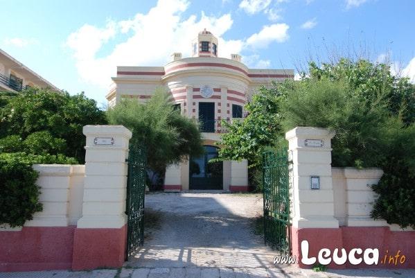 Villa Merdiana Santa Maria di Leuca. Sul Lungomare della Marina.