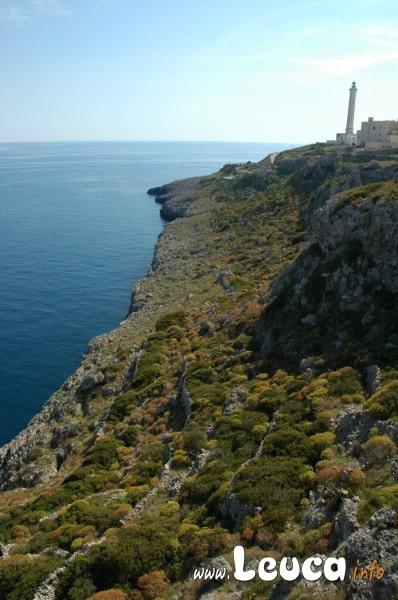 Vista Mozzafiato Santa Maria di Leuca parte adriatica dopo il faro