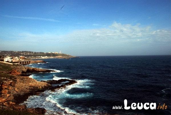 Vista Panoramica di Santa Maria di Leuca da Punta Ristola... si ammira un belvedere mozzafiato Foto Sandro Simone
