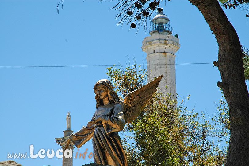 Statua dell'angelo a Santa Maria di Leuca