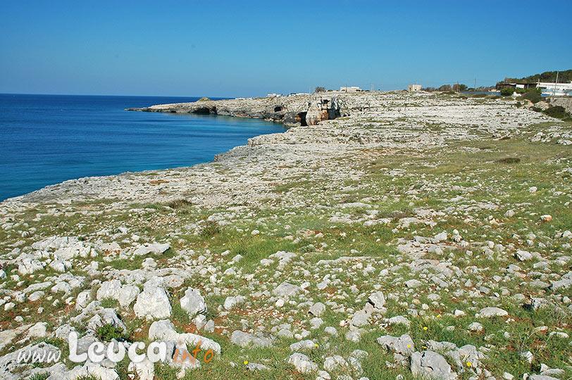 Paesaggio costiero tipico Santa Maria di Leuca