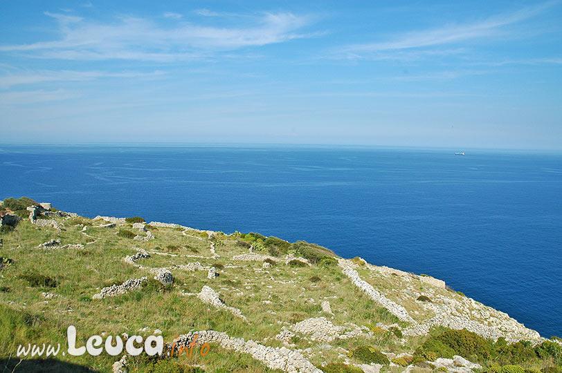 Paesaggio costiero Otranto Leuca nel Salento